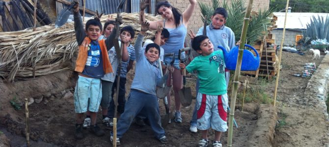 Umwelterziehung im Elquital