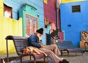 Arbeit mit Obdachlosen